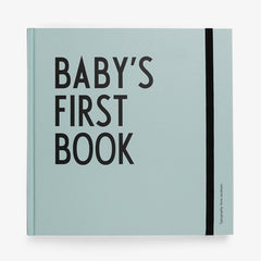 Design Letters Baby's First Book Arne Jacobsen / Blauw