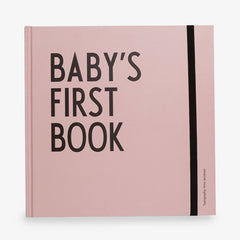 Design Letters Baby's First Book Arne Jacobsen / Roze