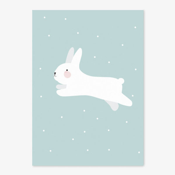 Poster / A3 / Eef Lillemor / White Rabbit