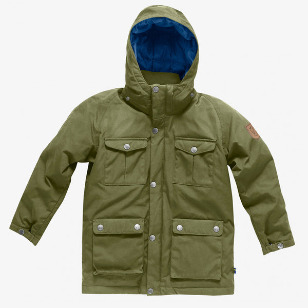 Fjällräven Kids Greenland Down Parka / Green