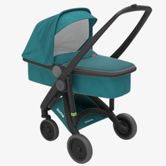 Greentom / Upp Carrycot kinderwagen / Black & Petrol