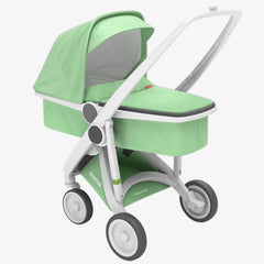 Greentom / Upp Carrycot kinderwagen / White & Mint