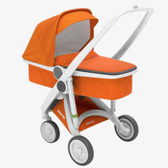 Greentom / Upp Carrycot kinderwagen / White & Orange