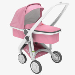 Greentom / Upp Carrycot kinderwagen / White & Pink