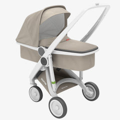 Greentom / Upp Carrycot kinderwagen / White & Sand