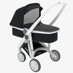 Greentom / Upp Carrycot kinderwagen / White & Black