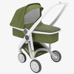 Greentom / Upp Carrycot kinderwagen / White & Olive