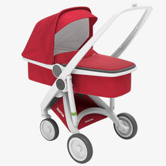 Greentom / Upp Carrycot kinderwagen / White & Red