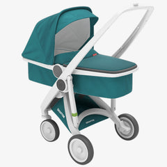 Greentom / Upp Carrycot kinderwagen / White & Petrol