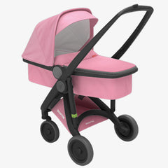 Greentom / Upp Carrycot kinderwagen / Black & Pink