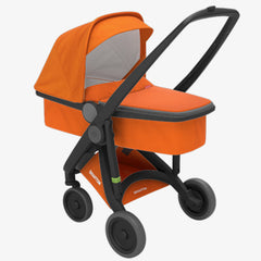Greentom / Upp Carrycot kinderwagen / Black & Orange