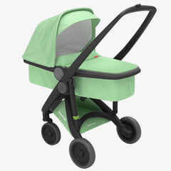 Greentom / Upp Carrycot kinderwagen / Black & Mint