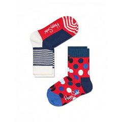 Happy Socks / Set van twee / Big Dot Blauw