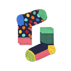 Happy Socks / Set van twee / Big Dot Multicolor