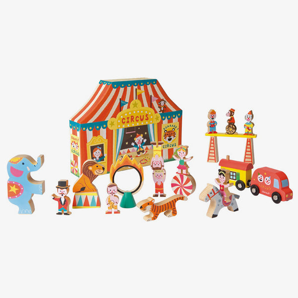 Janod / 3+ / Story box / Houten Speelset Circus
