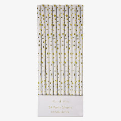 Meri Meri / Gold Star Party Straws