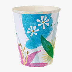 Meri Meri / Painted Flowers Cups
