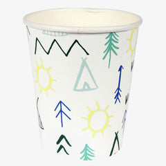 Meri Meri / Let's Explore Party Cups