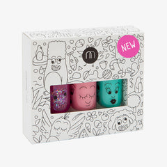 Nailmatic kids / Nagellak op waterbasis / Set van drie / Jungle