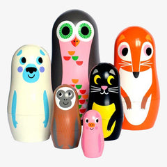 OMM Design / Matryoshka Nesting Dolls / Animals 2
