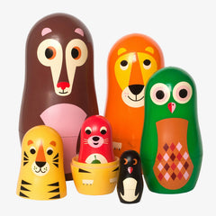 OMM Design / Matryoshka Nesting Dolls / Animals 1