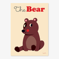 Poster / 50x70cm / OMM Design / The Bear