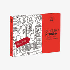 Omy / Pocket Map / Londen