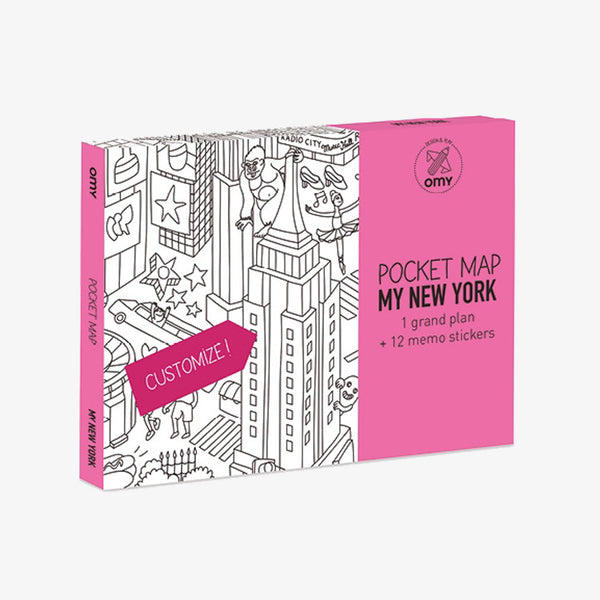 Omy / Pocket Map / New York