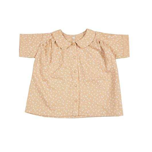 Rylee & Cru / T-Shirt / Scatter Collared Blouse