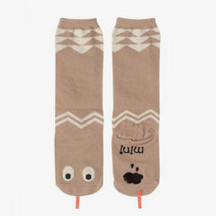 Mini Dressing / Snake Knee Socks / Beige