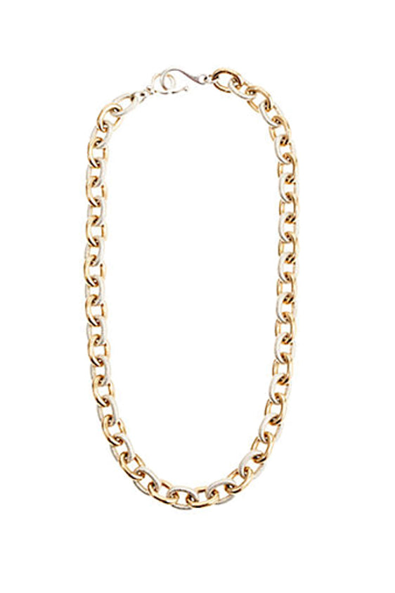 Mixed Metal Link Chain