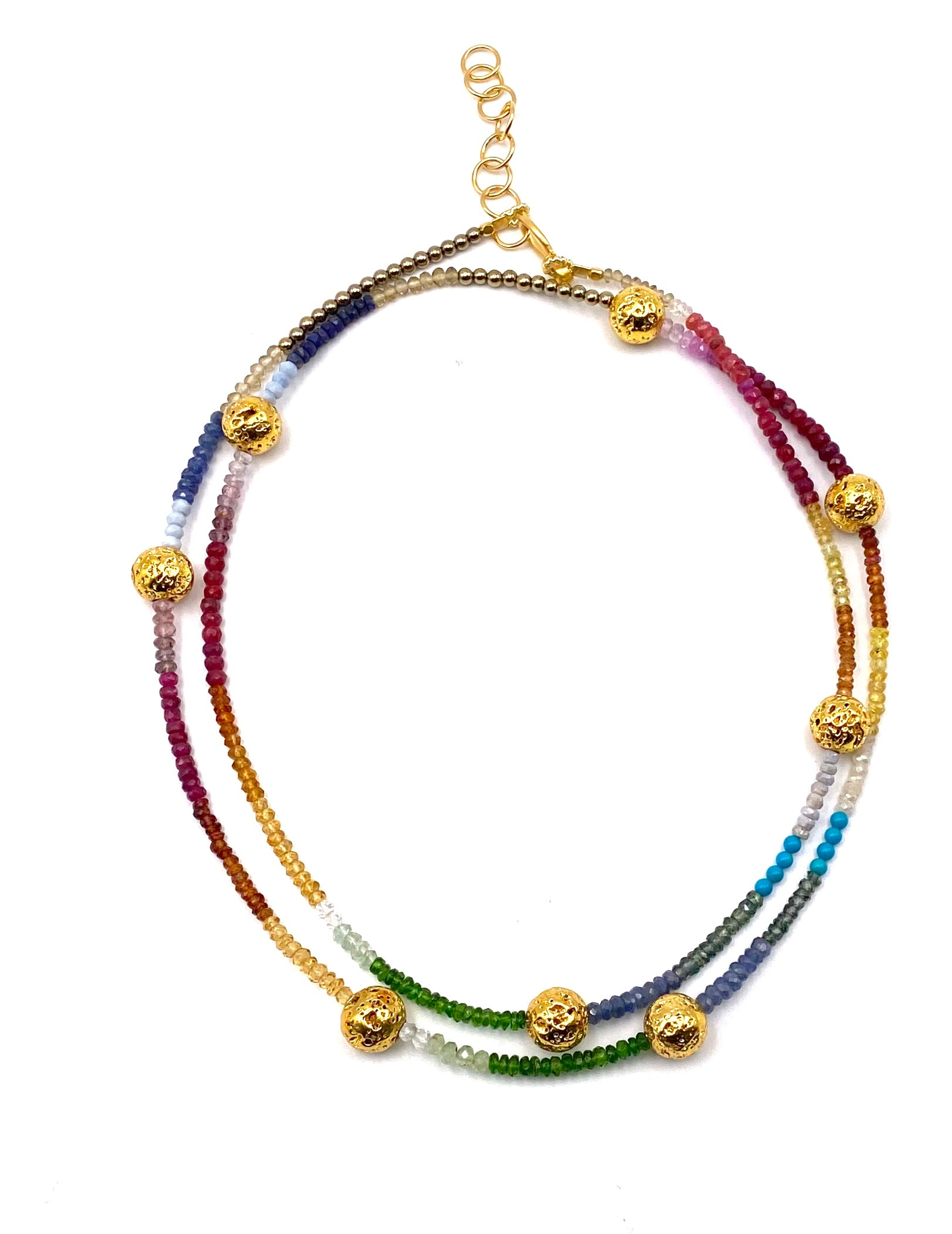 "Rainbow Station 36"" Necklace"