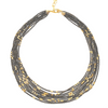 Fine Pyrite Gold Multi Necklace