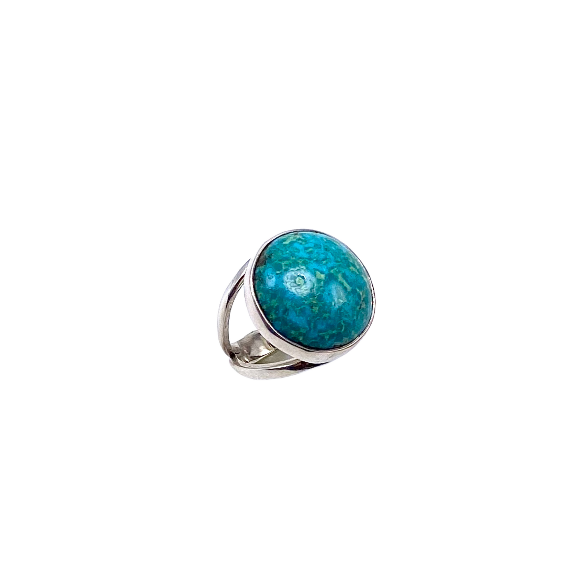 Turquoise and Sterling Silver