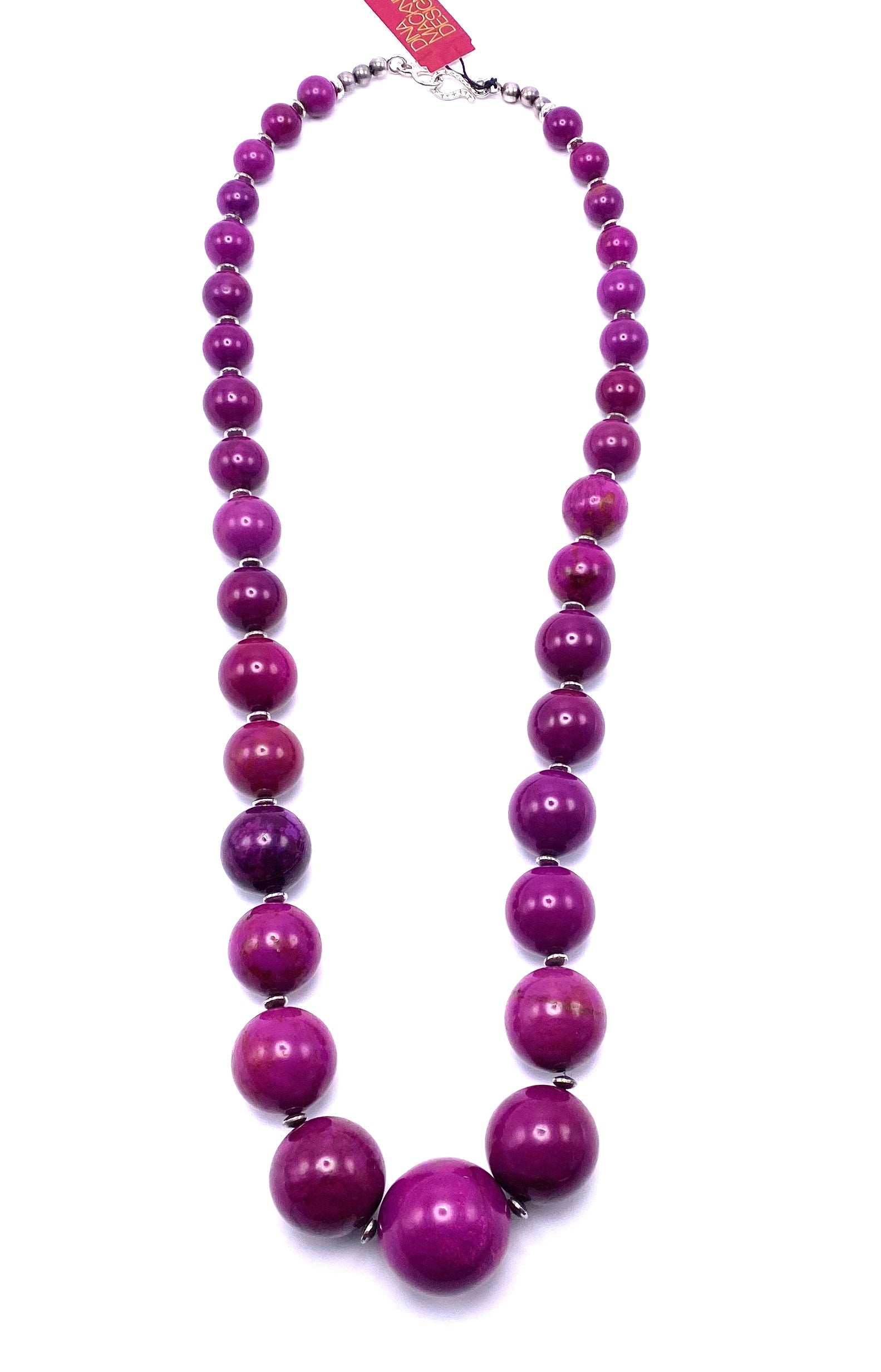 Vibrant Alunite Necklace