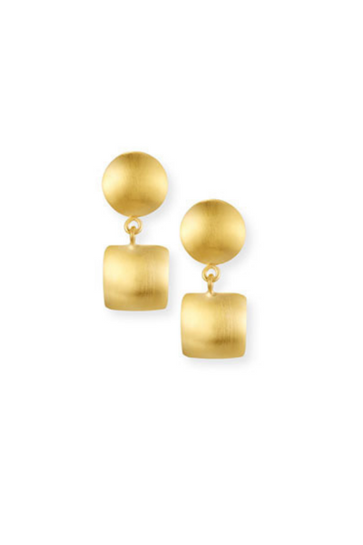 Geo Double Earrings