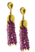 Pink Tourmaline Duster Earrings