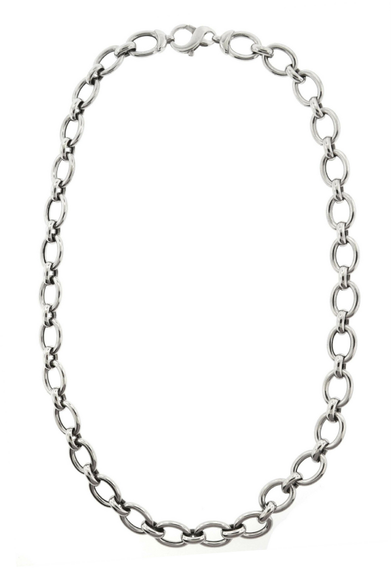 Large Oval Link Chain 19""