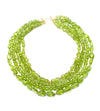 Peridot Multi Strand Necklace