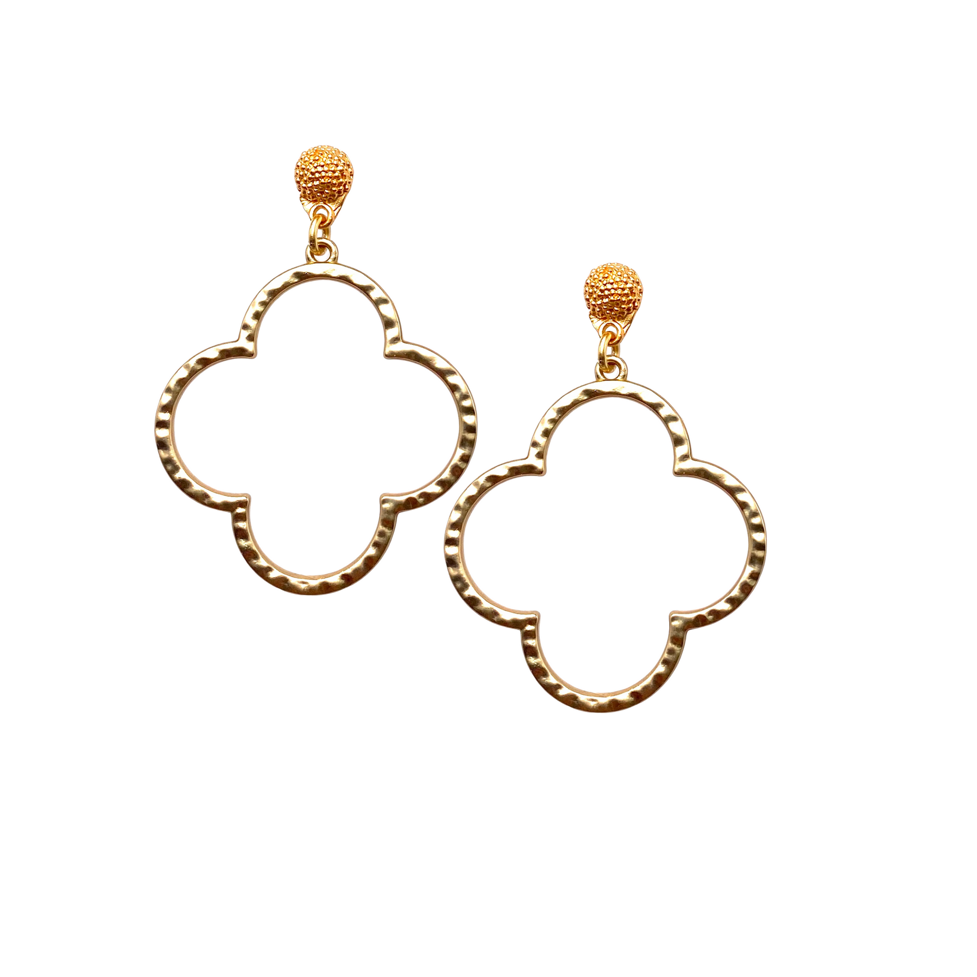 Quatrefoil Earrings