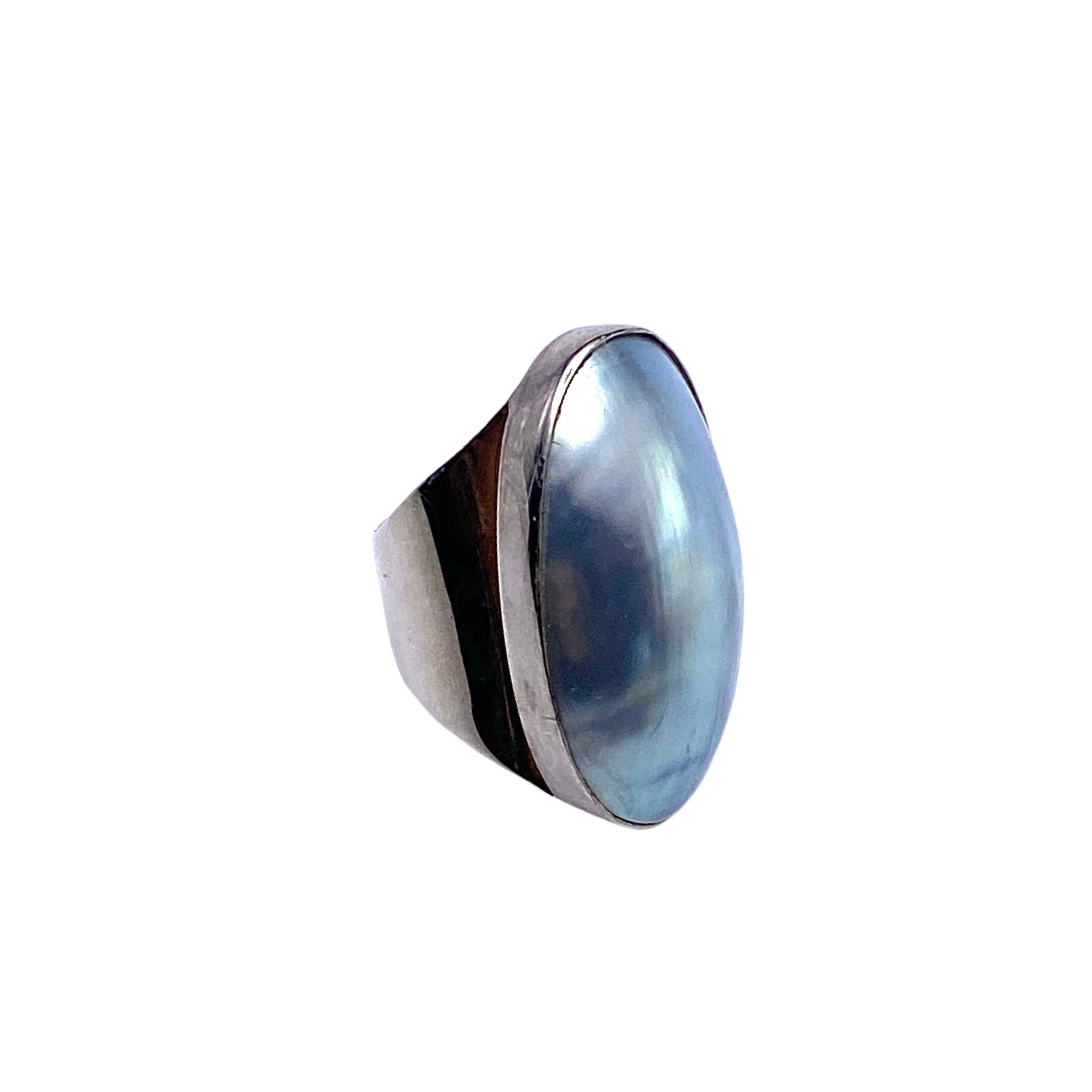 Mabe Pearl Sterling Ring