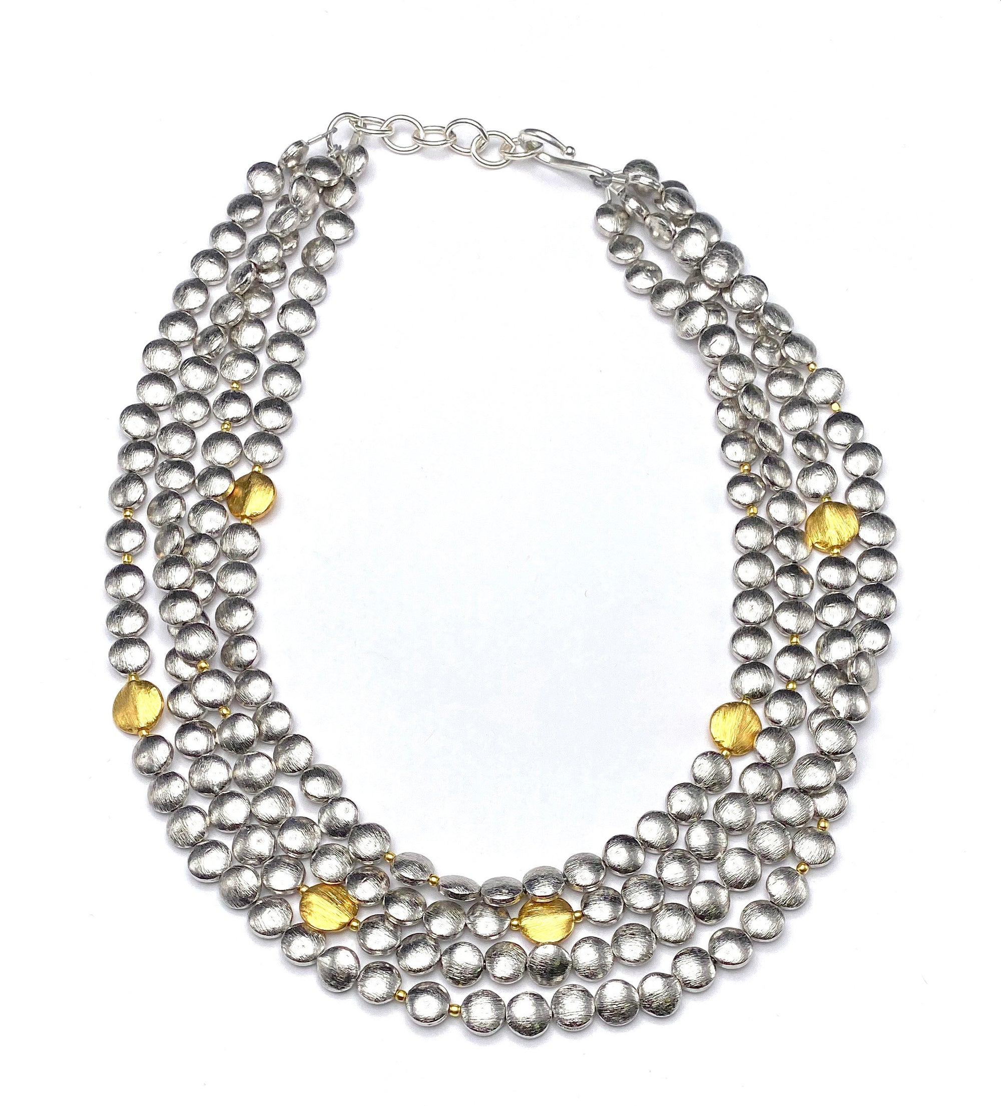 Mixed Metal Multi Necklace