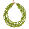 Peridot Multistrand Necklace