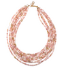 Pink Opal Multi Necklace