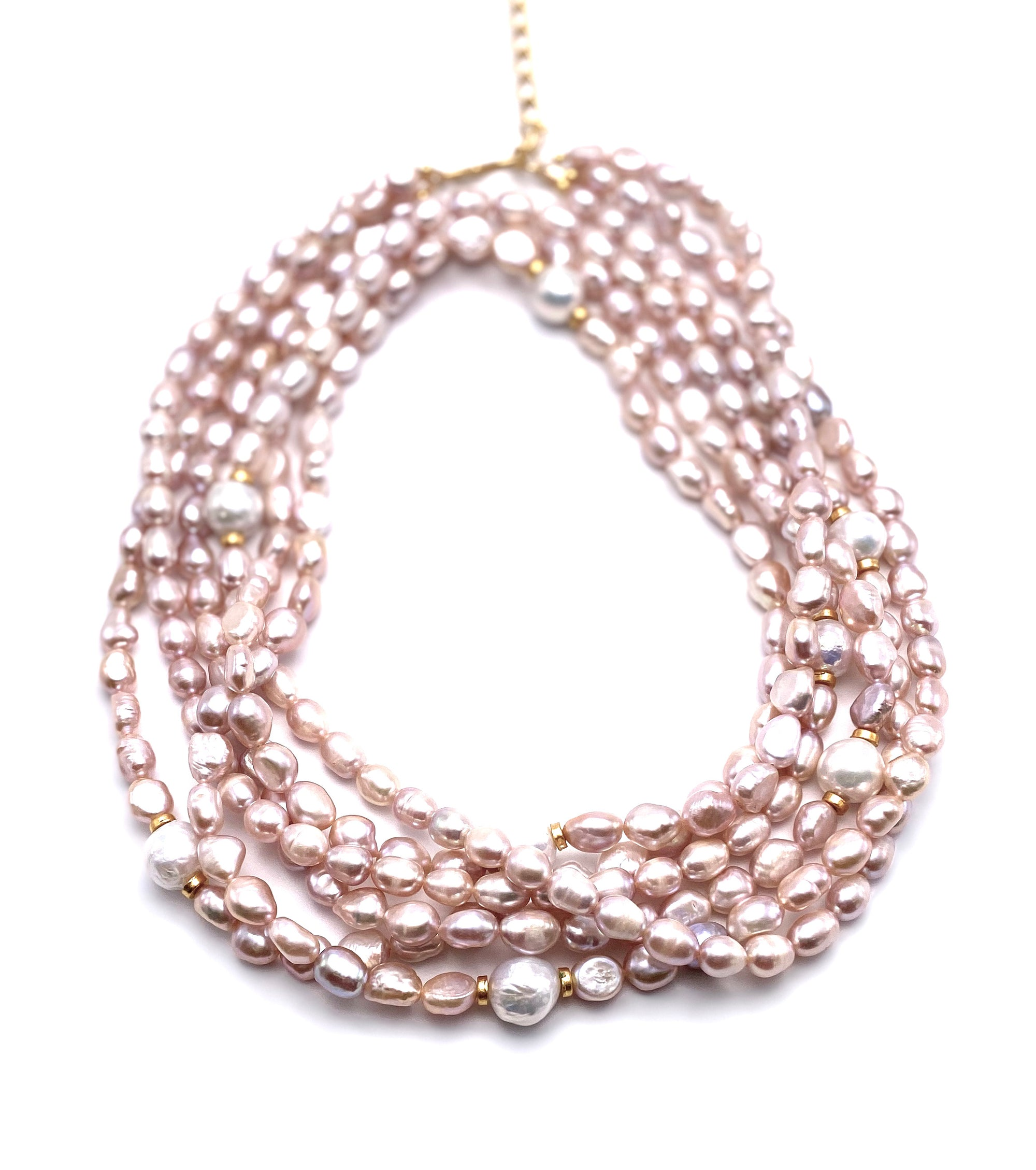 "Blush Pearls 36"" Necklace"