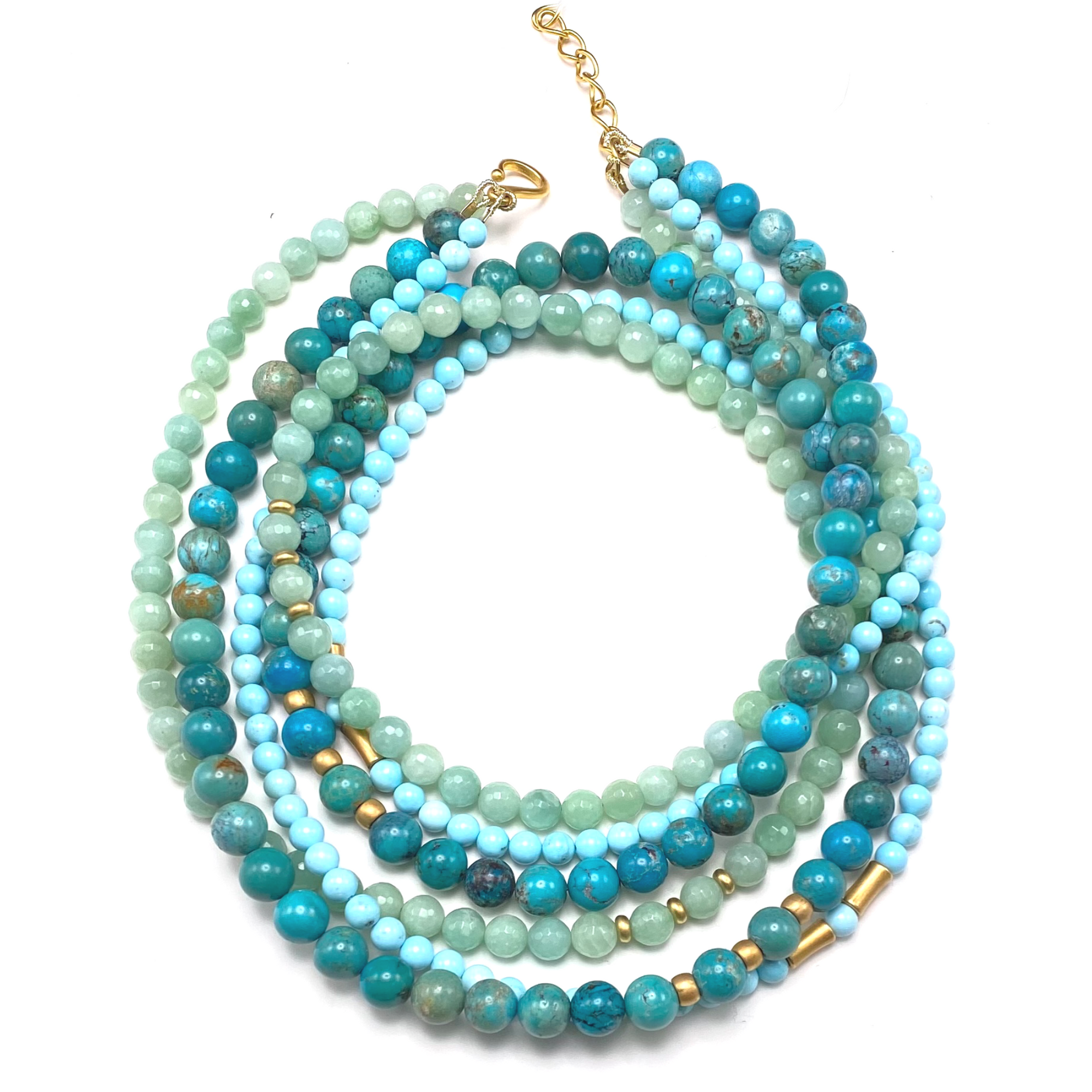 Triple Ocean Necklace