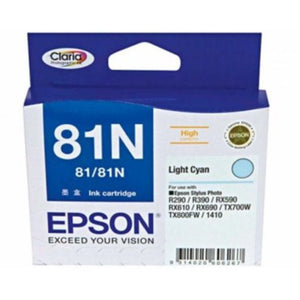 81N Epson genuine light cyan ink