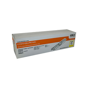 Oki C110/130N Genuine Yellow Toner