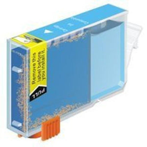 Canon CLI521 compatible cyan ink cartridge