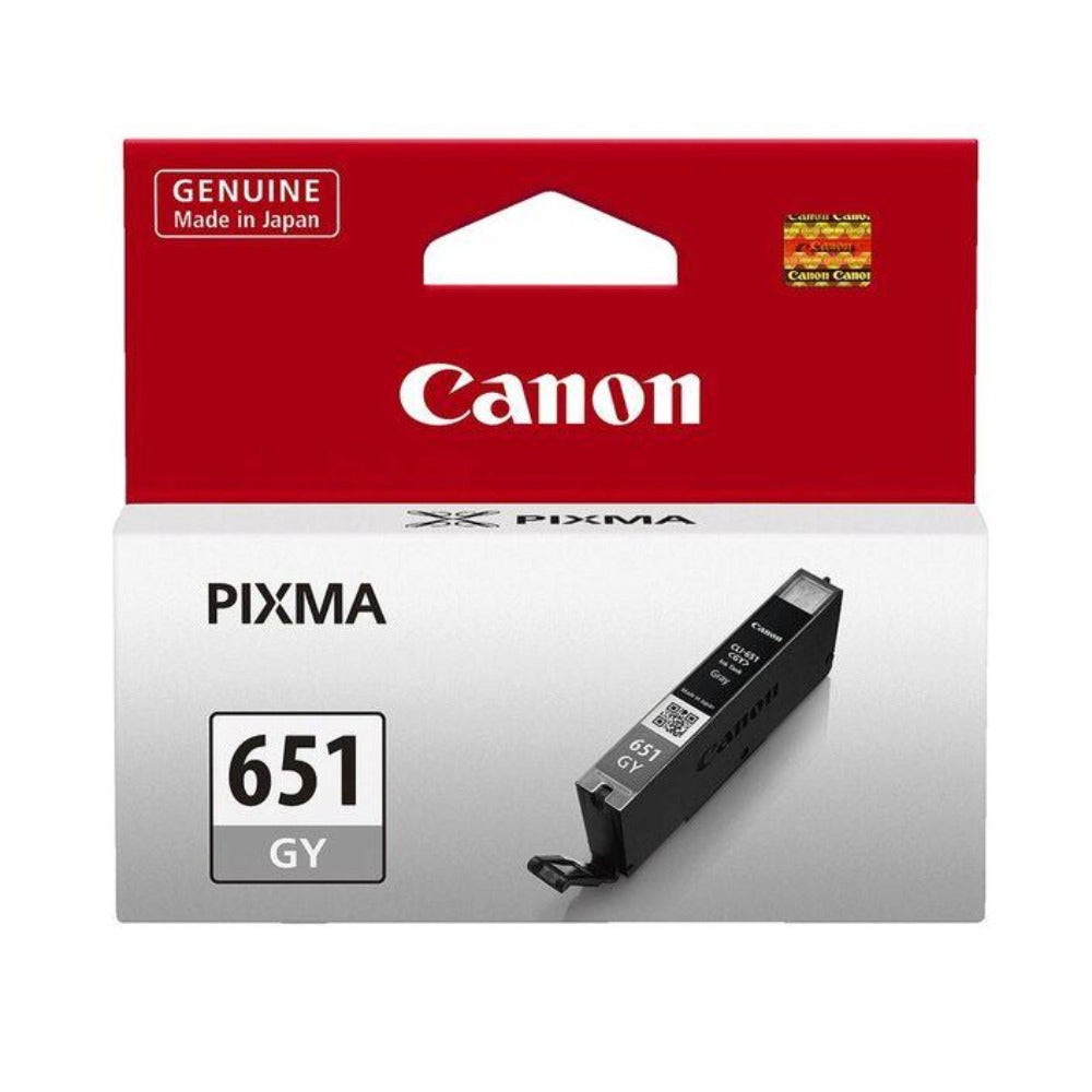 Canon CLI651 genuine grey ink refill